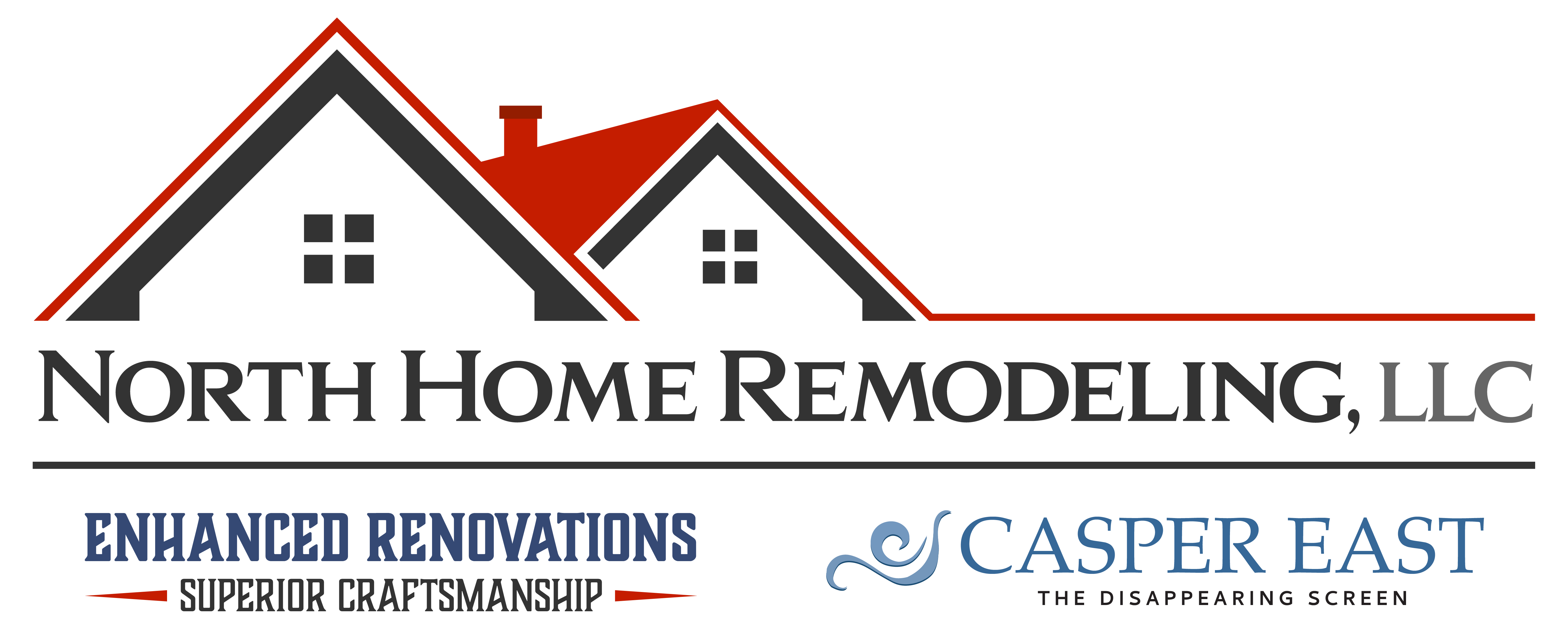North home remodeling logo